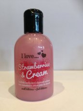 Strawberries and Cream - Bath and Shower - 100 ml.