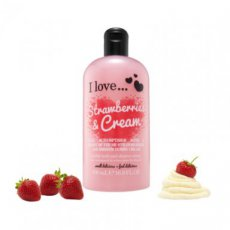 Strawberries and Cream - Bath and Shower - 500 ml.