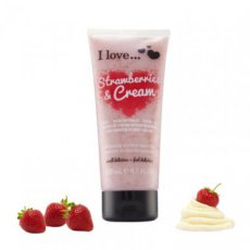 Strawberries and Cream - Exfoliating - 200 ml.
